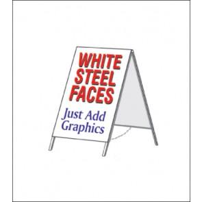 Steel A-Frame Sign