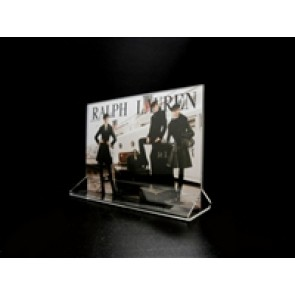 "Acrylic Top Loading Display Sign Holder 7"" x 5"