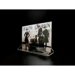 "Acrylic Top Loading Display Sign Holder 7"" x 5"