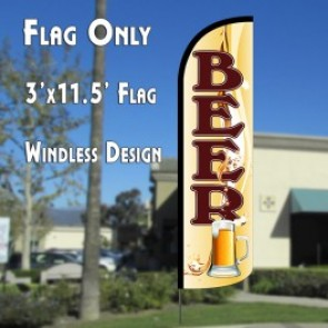 Beer (Mug) Windless Advertising Flag