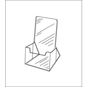 Large Countertop Acrylic Brochure Holder