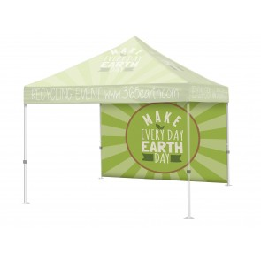 Custom Trade Show Display Tent Full Wall with your Logo Full Color 10x10  FREE GROUND SHIPPING Next Day Print