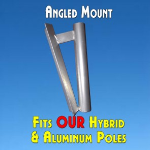 Feather Banner Angled Pole Mount (Flutter and Windless Poles)