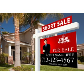 Full Color Real Estate For Sale Signs 24x36 Coroplast or Aluminum