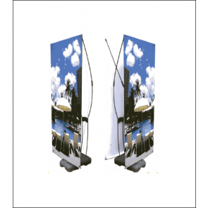 Gamma Outdoor Banner Display