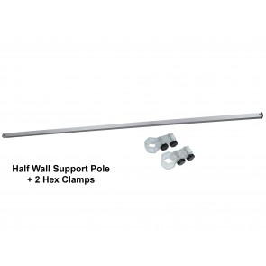 Half Wall Hardware FREE GROUND SHIPPING Next Day Print