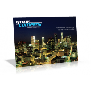 """8.5"""" X 5.5"""" 16PT Postcards UV on 4-color side(s) Free Ground Shipping"""