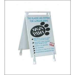 Sign Paws Plastic Leg & Hinge System