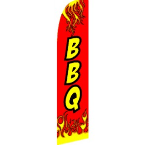 BBQ (Red) Feather Banner Flag