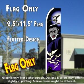 VAMPIRE (Halloween) Flutter Feather Banner Flag (11.5 x 2.5 Feet)