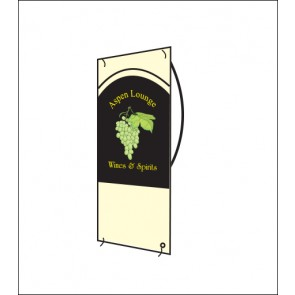 Xtra Large Portable Banner Display Stand