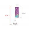 Custom Giant Feather Flag (X-Large) 23 ft tall