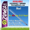 ZUMBA FITNESS PURPLE AND PURPLE ADVERTISING FLAG  Feather Banner Flag Kit