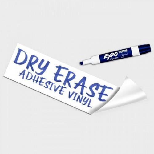 Dry Erase Adhesive Vinyl+ Free Lamination