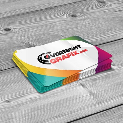 Glossy round corner business cards uv on 4 color sides 2 x 35 glossy round corner business cards uv reheart Choice Image