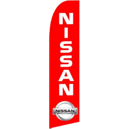 Nissan  (11.5 x 2.5) Feather Banner Flag