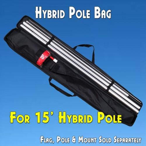 """POLE CARRY BAG for 15' Hybrid Poles (Canvas, 48"""")"""