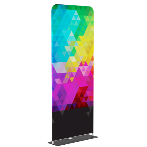 """Banner Stand Tension Fabric Stand 36""""x90""""   Tool-free installation  EZ setup tube hardware  Great POP display"""