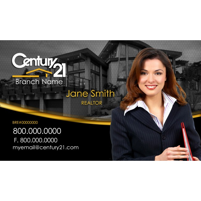 Century Agents Design Century Business Cards Online Custom - Century 21 business cards template