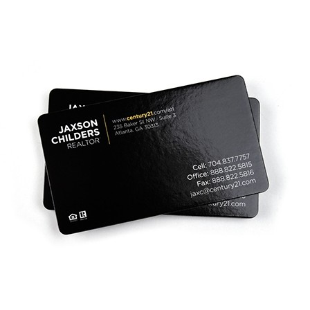Glossy round corner business cards uv on 4 color sides 2 x 35 glossy round corner business cards uv reheart Image collections