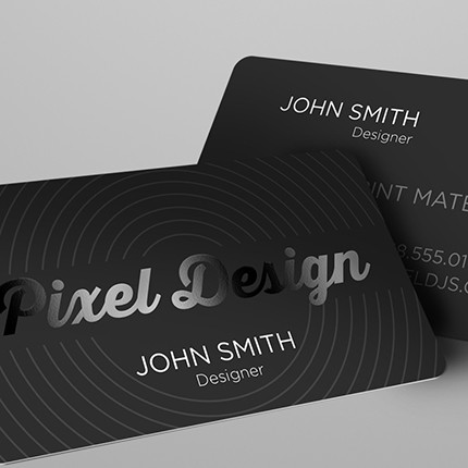 15 x 35 16pt silk laminated business cards with spot uv on both more views colourmoves