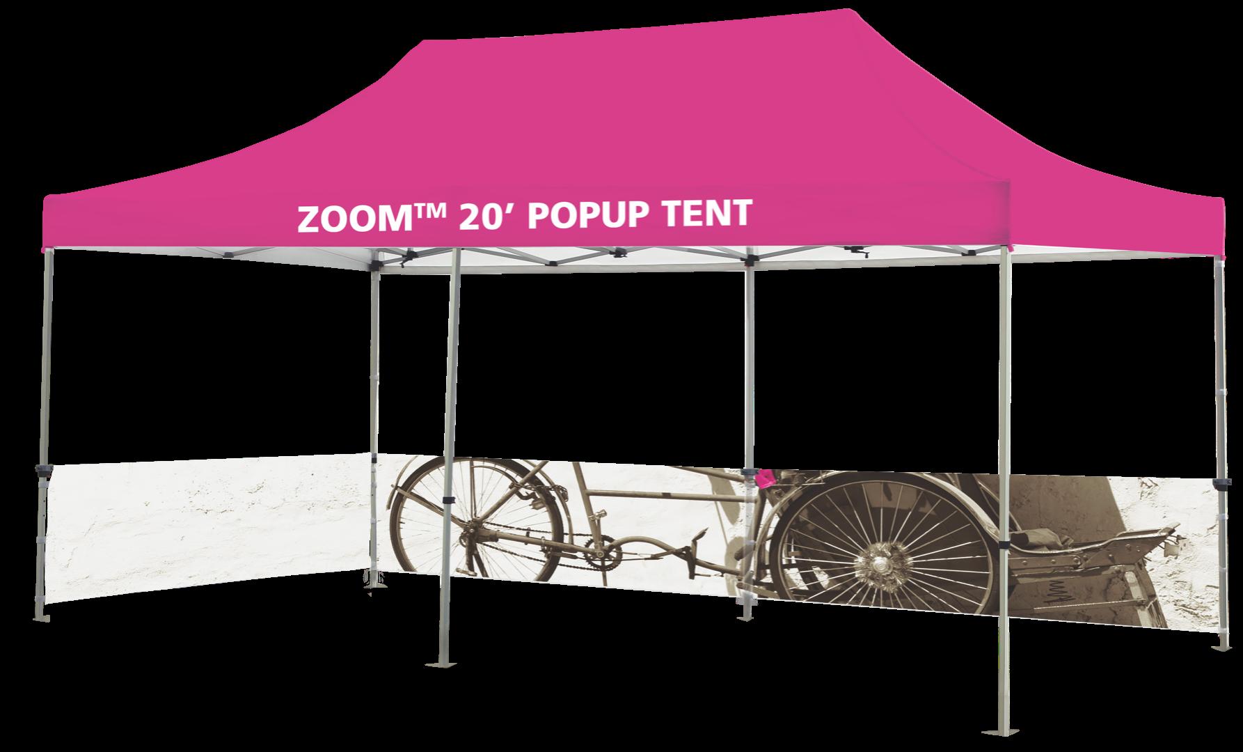 More Views  sc 1 st  Overnight Grafix & Custom Printed Zoom 20 Popup Tent Overnight Grafix