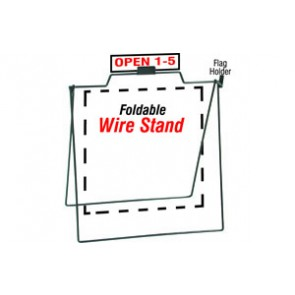 Foldable Wire Stand