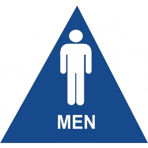 "ADA Signs 12"" x 12"" Men"