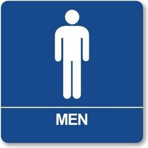 "ADA Signs 8"" x 8"" Men"