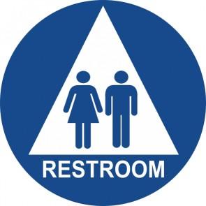 "ADA Signs 12"" x 12"" Restroom"
