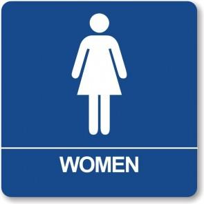 "ADA Signs 8"" x 8"" Women"
