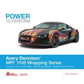 Adhesive Vinyl MPI Avery Dennison 1105 Supercast Easy Apply RS + 1360Z Gloss 1.3 Mil 4yr