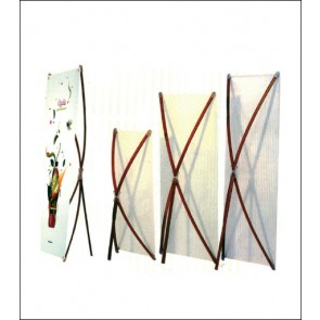 Bamboo Deluxe Banner Stand