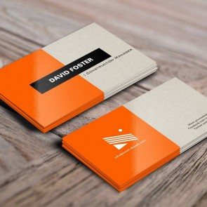Business Cards with Full UV