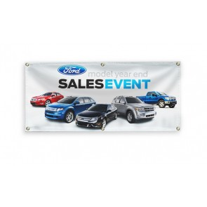 "Custom Vinyl Banner (13oz.) 3"" x 6"" Full Digital Color"