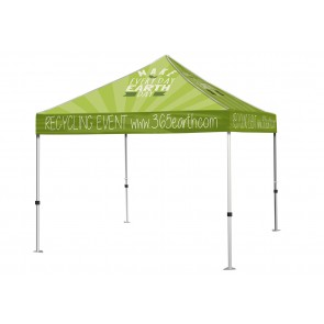 Custom Canopy Trade Show Display Tents with your Logo Full Color 10x10 40mm frame