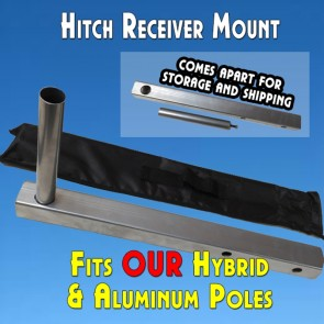 Feather Banner Hitch Mount (Flutter and Windless Poles)