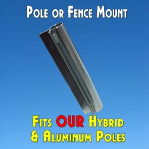 Feather Banner Pole/Fence Mount (Flutter and Windless Poles)