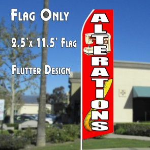 ALTERATIONS Feather Banner Flag