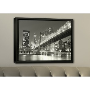 1.5 Thick Gallery Wrap Floating Frame (Canvas)