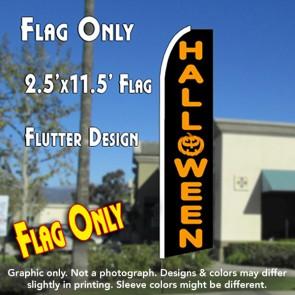 HALLOWEEN Flutter Feather Banner Flag (11.5 x 2.5 Feet)