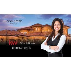 United Country Real Estate Business Cards UNCRE-2
