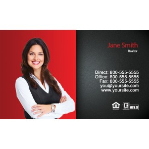 First Time Real Estate Business Cards FTRE-1