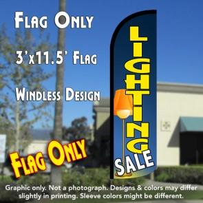 Lighting Sale Windless Polyknit Feather Flag (3 x 11.5 feet)