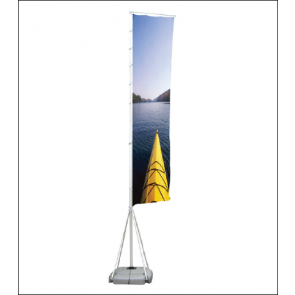 Outdoor Flag Pole Banner Display