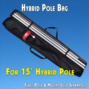 "POLE CARRY BAG for 15' Hybrid Poles (Canvas, 48"")"