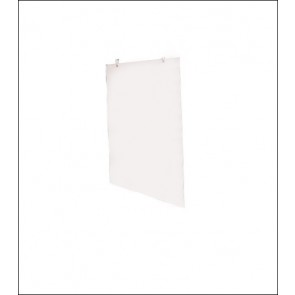 "1/8"" White PVC Insert Sign Blank"