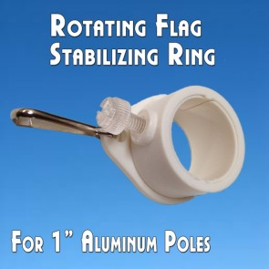 Rotating Flag Mounting Rings (1) for Aluminum Flag Poles