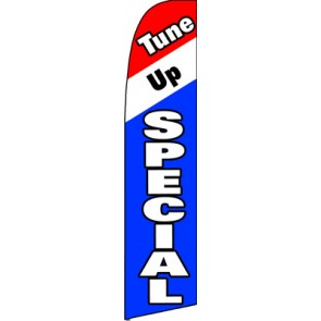 Tune Up Special  Feather Banner Flag