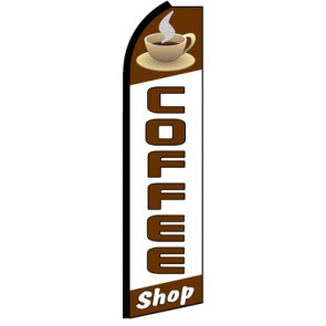 COFFEE SHOP Feather Banner Flag